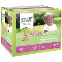 Seventh Generation Baby Free & Clear Diapers, Size 3, 62 count
