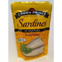 Crown Prince Sardines in Mustard Traditional - Omega 3 - 3.53oz (2pack) - Product of Thailand