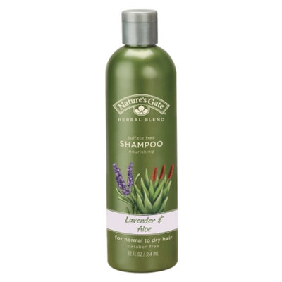 Nature's Gate Organics Organic Herbal Blends Lavender and Aloe Shampoo For Normal to Dry Hair