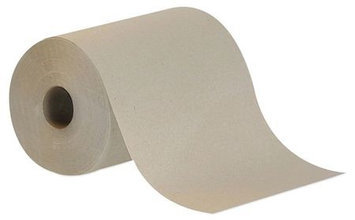 TOUGH GUY 38X644 Paper Towel Roll, Brown,350 Ft, PK12