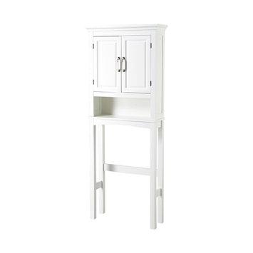 Homestar Canada Inc. Chamber Collection White 3-shelf Bathroom Space Saver