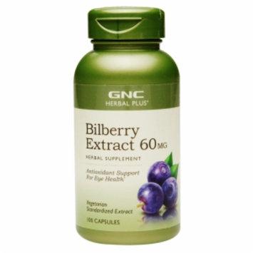 Gnc GNC Herbal Plus(r) Bilberry Exract 60MG
