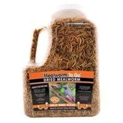 Unipet USA Dried Mealworm To Go Wild Bird Food - 30 oz