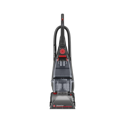 Hoover - Steamvac Plus Carpet Cleaner - Gray/red