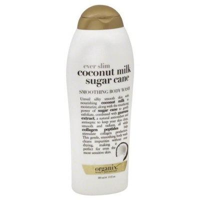 OGX®  Ever Slim Coconut Milk Sugar Cane, Smoothing Body Wash