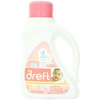 Dreft Baby Liquid Laundry Detergent 32 Loads 50 Fl Oz (Pack of 2)