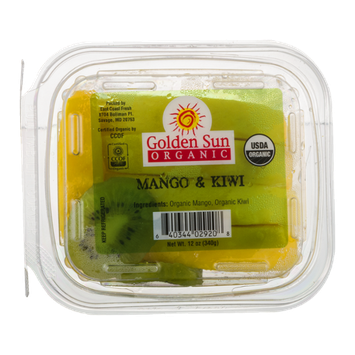 Golden Sun Organic Mango & Kiwi