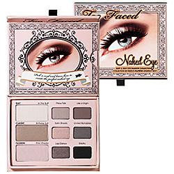 Too Faced Naked Eye Soft & Sexy Eye Shadow Collection
