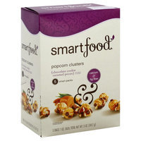 Smartfood Popcorn Clusters, Chocolate Cookie Caramel Pecan, 5 - 1 oz bags [5 oz (141.7 g)]