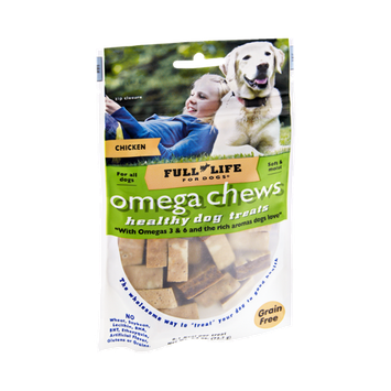 Full Life For Dogs Omega Chews Chicken Healthy Dog Treats