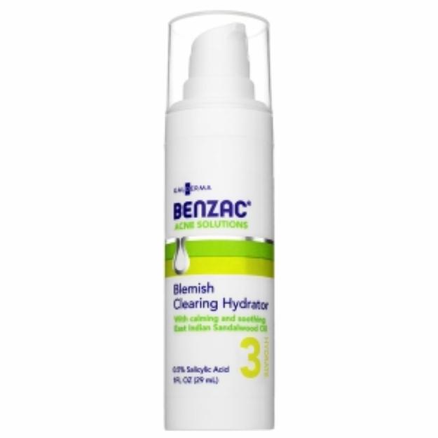 Benzac Blemish Clearing Hydrator, 1 fl oz