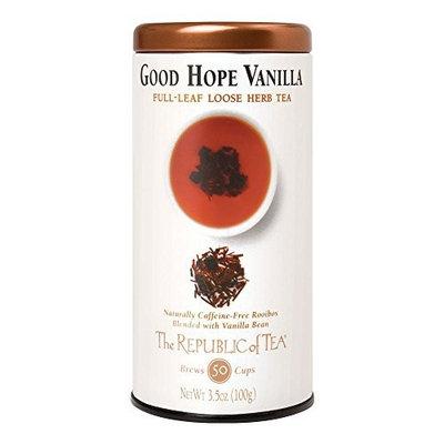 The Republic Of Tea Good Hope Vanilla Red Full-Leaf, 3.5 Ounces/50 Cups