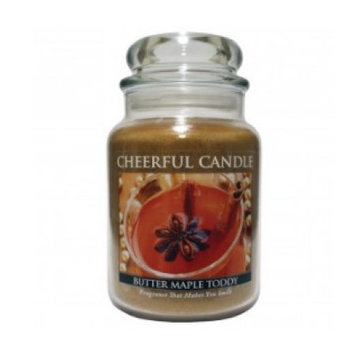 A Cheerful Candle CC18 BUTTER MAPLE TODDY 24OZ - Pack of 2