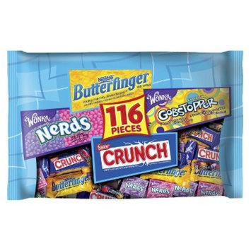 Nestlé U.S.A. Nestlé Assorted Chocolate and Sugar Bag: Butterfinger, Nerds,