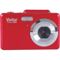 Vivitar 16.1 Mp Digital Camera with 2.7-Inch Swivel Preview Screen- Red
