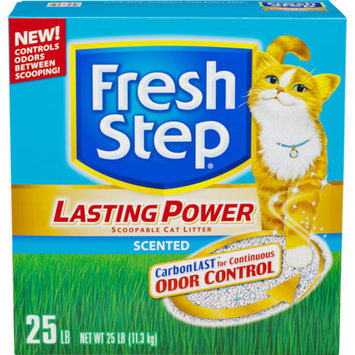 Fresh Step Lasting Power Scented Scoopable Cat Litter, 25 Pounds