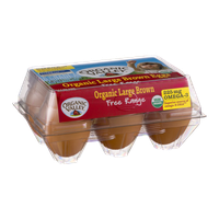 Organic Valley Organic Large Brown Eggs Free Range Grade