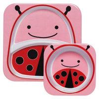 Zoo Melamine Kids & Toddler Tableware Set Ladybug by Skip Hop