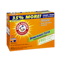 Arm & Hammer Perfume and Dye Free Powder Laundry Detergent - 54 Loads