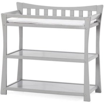 Foundations Worldwide Child Craft Parisian Cool Gray Dressing Table