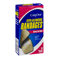 CareOne Hypo-Allergenic Bandages Extra Large - 10 CT