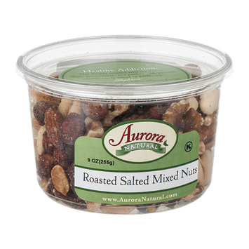 Aurora Natural Roasted Salted Mixed Nuts