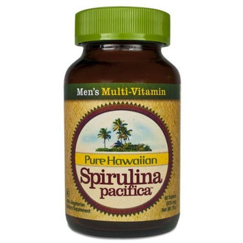 Nutrex Hawaii Hawaiian Spirulina Pacifica Mens' Multi-Vitamin, 90-tablet Bottle