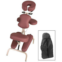 MHP Master Massage 46463 Bedford Portable and Adjustable Massage Chair- with an Ergonomic Carrying Case