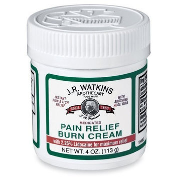Jr Watkins J.r. Watkins Aloe Pain Relief Burn Cream, 4 Ounce