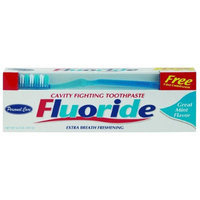 DDI UEC Fluoride Regular Toothpaste With Toothbrush Case of 48