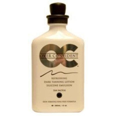 Oc/rsun Oc Over Confident 12 Oz Dark Tan Lotion Silicone Emuls.