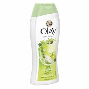 Olay Fresh Outlast Body Wash, Crisp Pear & Fuji Apple, 23.6 fl oz