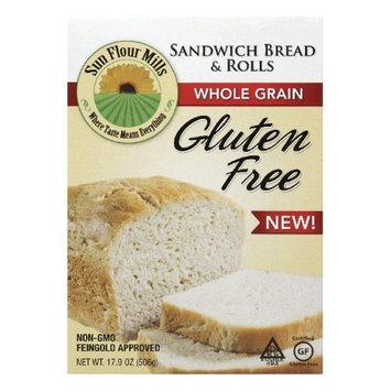 Sun Flour Mills Sandwich Bread & Rolls 17.9oz Pack of 6