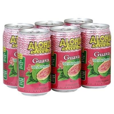 Aloha Maid Maid Drink Guava, 11.5-ounces (Pack of 24)