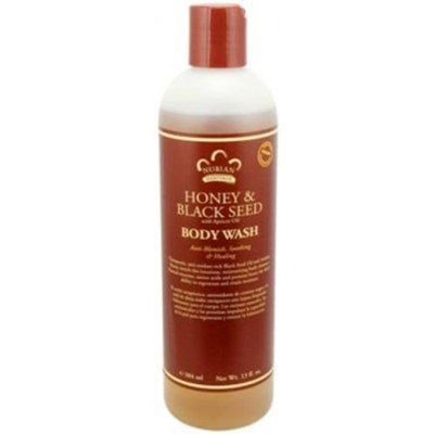 Body Wash Honey & Brown Suger 13 OZ - Nubian Heritage