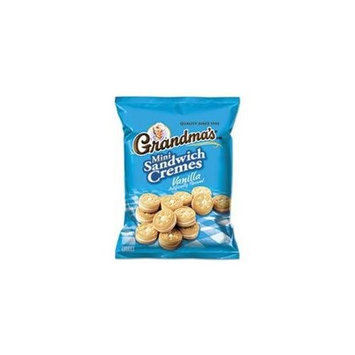 Frito Lay Grandmas Vanilla Cream Mini Bites Cookies 60 Pack Box