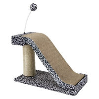 Cat Life Cat-Life Scratching Post with Leopard Accents from Penn Plax