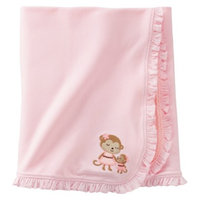 Just One You Made by Carter's Just One YouMade by Carter's Newborn Girls' Monkey Swaddle Blanket -