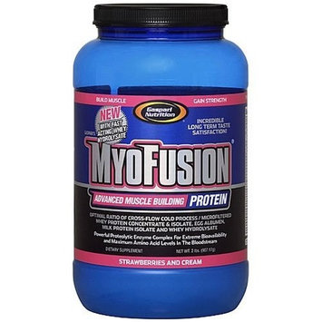Gaspari Nutrition Myofusion With Hydrolysate, 2-Pound