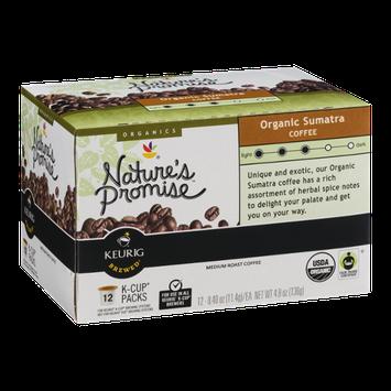 Nature's Promise Organics Organic Sumatra Coffee K-Cup Packs Medium Roast - 12 CT