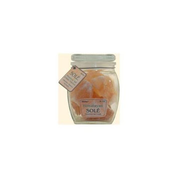 Himalayan Salt Sole Salt Chunks in Jar - 16 oz - 1248269