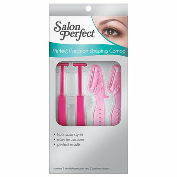 Salon Perfect Perfect Precision Shaping Combo Brow Trim & Shape Razors and Precision Shapers