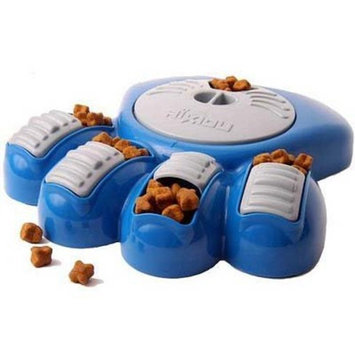 Aikiou Interactive Dog Feeder Blue