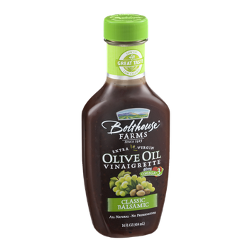 Bolthouse Farms Extra Virgin Olive Oil Vinaigrette Classic Balsamic Flavor