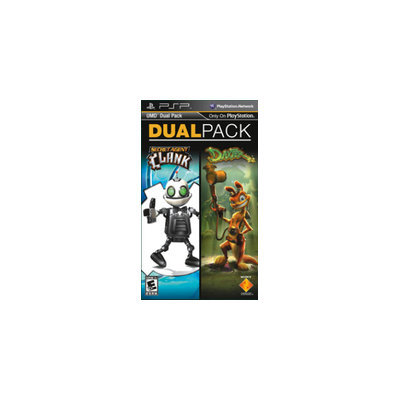 Sony Computer Entertainment America PSP 2 Pack -  Daxter and Secret Agent Clank