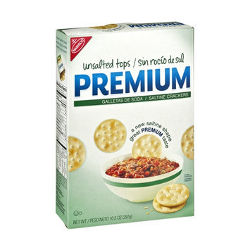 Nabisco Unsalted Tops Premium Saltine Crackers