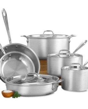 All Clad All-Clad Masterchef 2 10 Piece Cookware Set