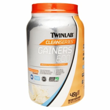 Twinlab CleanSeries Gainers 600, French Vanilla, 3.2 lbs