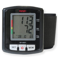 Sakar GNC Digital Wrist Blood Pressure Monitor (GF-0001)