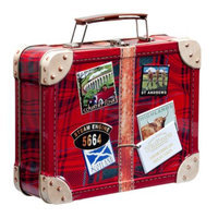 Walkers Shortbread Suitcase Tin